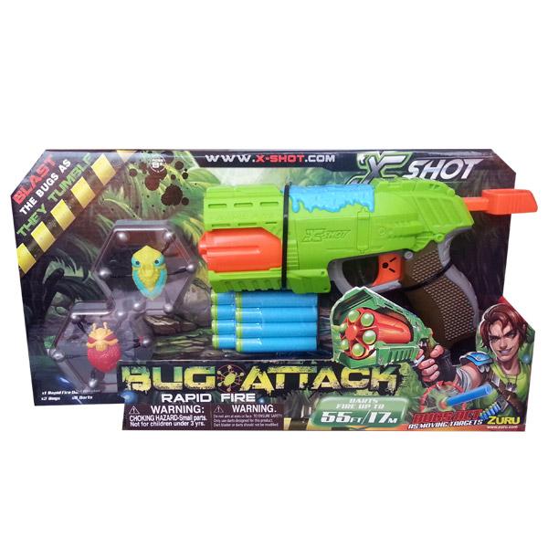 Pištolj Zuru BUG ATTACK - RAPID FIRE 10843 - ODDO igračke