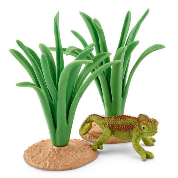 Schleich Kameleon u žbunju 42324 - ODDO igračke