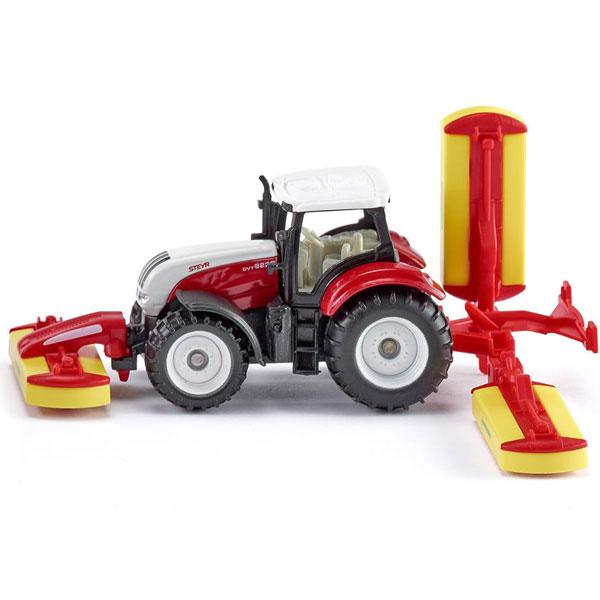 Siku Traktor sa priključkom 1672 - ODDO igračke