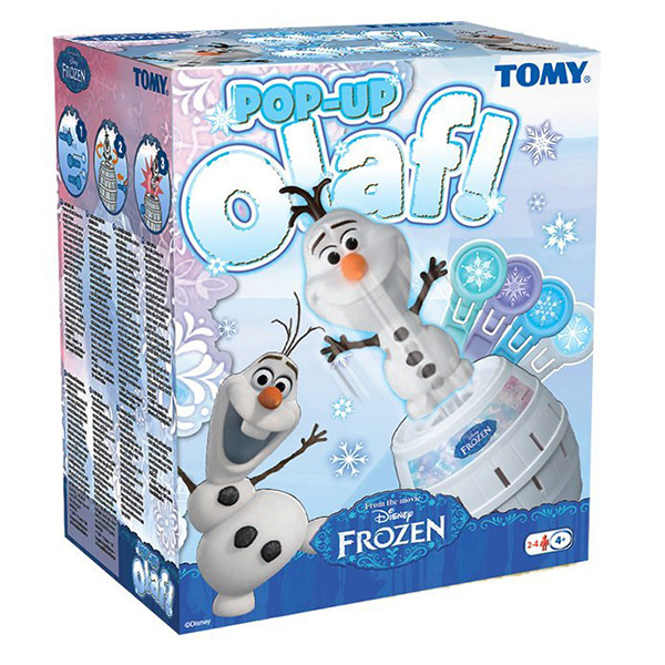 Tomy Olaf Pop up TM72389 - ODDO igračke