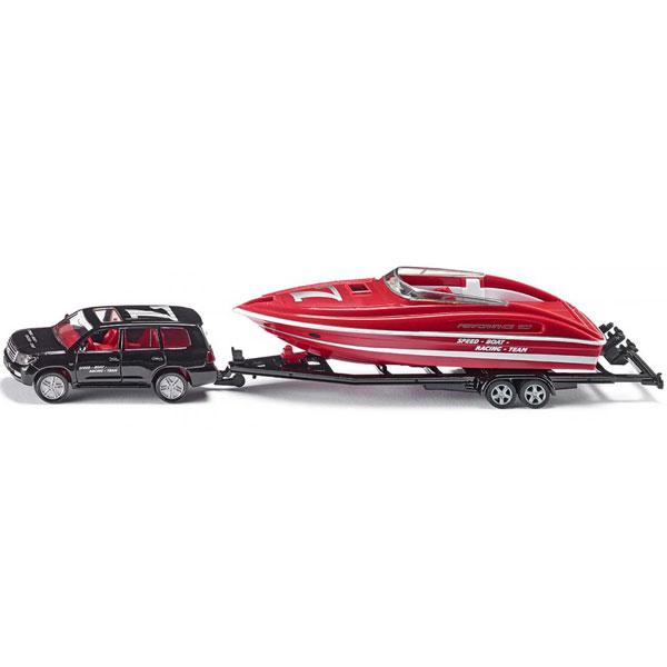 Siku Auto sa čamcem na prikolici 2543 - ODDO igračke