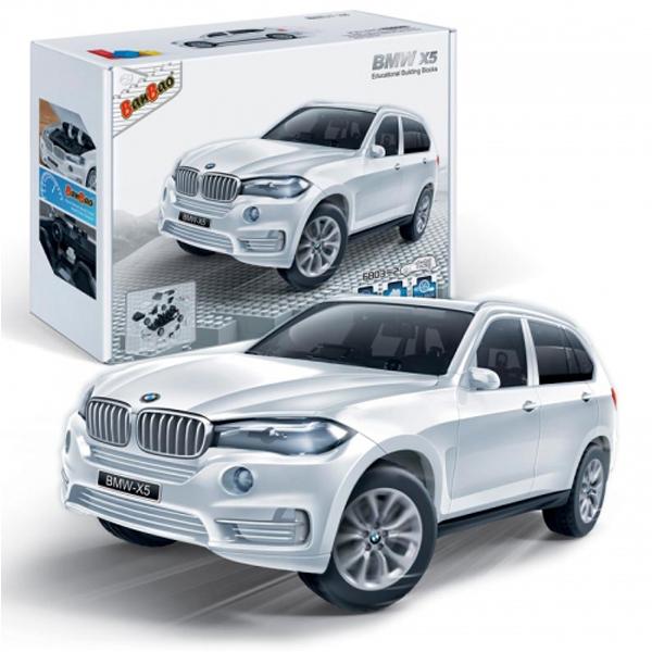 BanBao kocke BMW X5 6803-2 beli - ODDO igračke