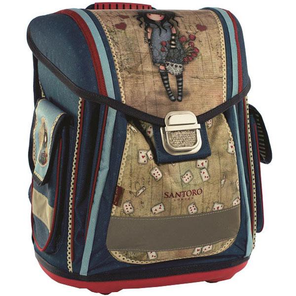 Gorjuss đačka anatomska torba The Hatter G4189041 - ODDO igračke