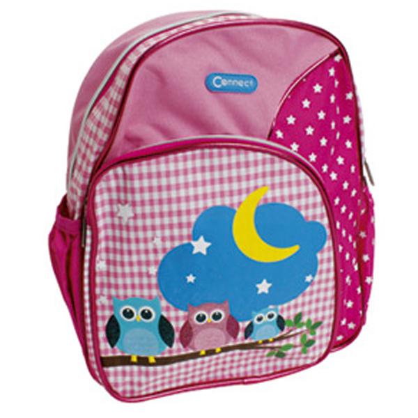 Ranac vrtićki Sleepy Owl 15.Connect roze-tamno roze 305655 - ODDO igračke