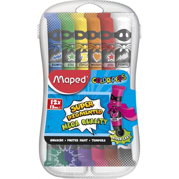 Maped tempere Color Peps 12ml 1/12 M810520 - ODDO igračke