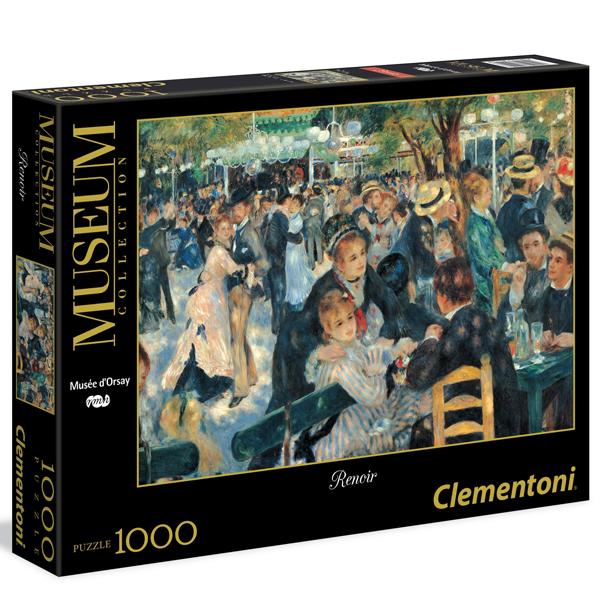 Clementoni Puzzla Renoir: Bal du Moulin de la Galette 1000pcs 31412 - ODDO igračke