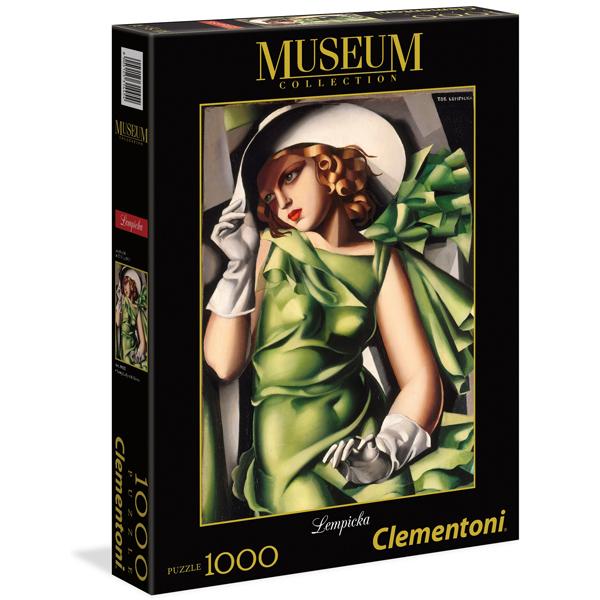 Clementoni Puzzla Young Girl In Green-Tamara De Lempicka 1000pcs 39332 - ODDO igračke
