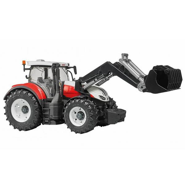 Traktor Bruder Steyr 6300 Terrus sa utovarivačem 031817 - ODDO igračke