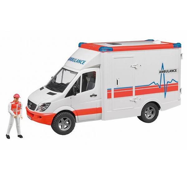 Kamion Bruder MB ambulanta sa figurom i dodacima 025366 - ODDO igračke