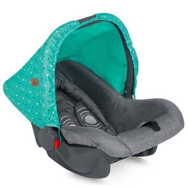 Auto sedište za decu od 0-10kg Bodyguard Green&Grey Friends 10070131704 - ODDO igračke