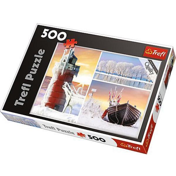 Trefl Puzzla Winter 500pcs 37242 - ODDO igračke