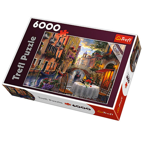 Trefl Puzzla Romantic supper 6000pcs 65003 - ODDO igračke
