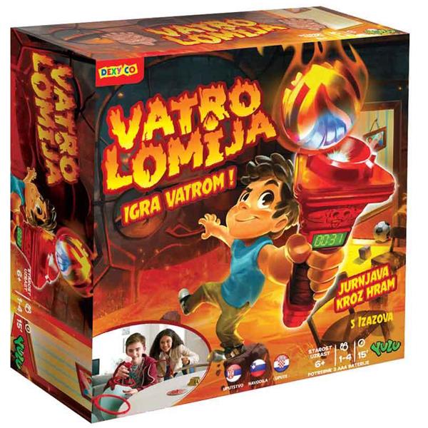 Društvena igra Vatrolomija YL041         - ODDO igračke