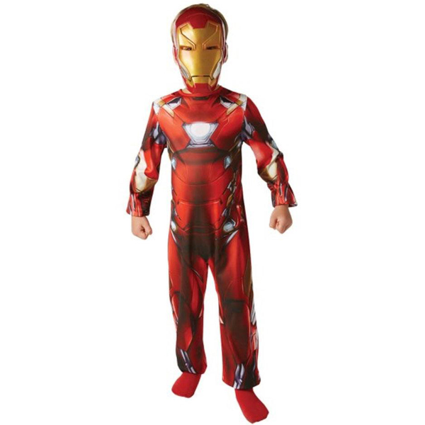 Rubies kostim Iron Man 7-8 godina RU620676L     - ODDO igračke