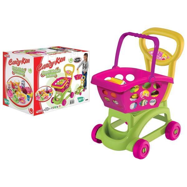 Market kolica i namirnice Candy and Ken Dede 030327 - ODDO igračke
