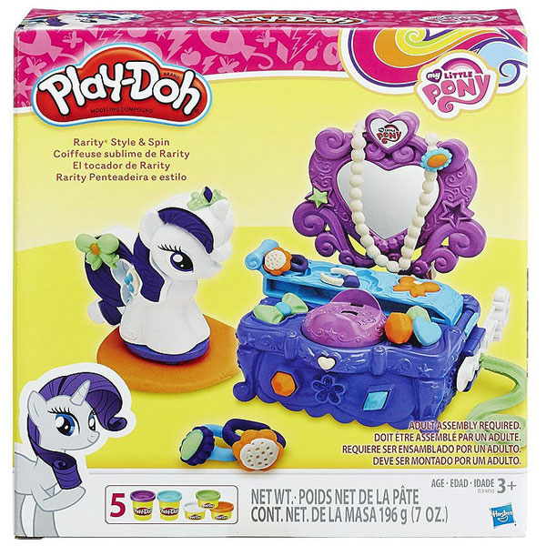 PlayDoh plastelin My little Pony set B3400 - ODDO igračke