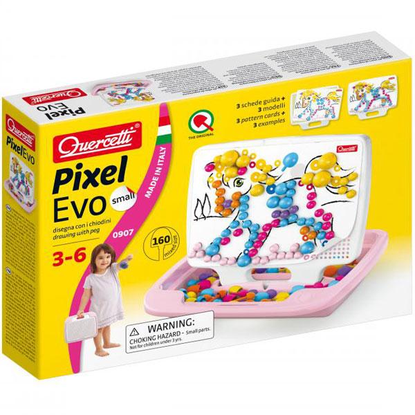 Quercetti Mozaik Girl Mali 160pcs 0907 - ODDO igračke
