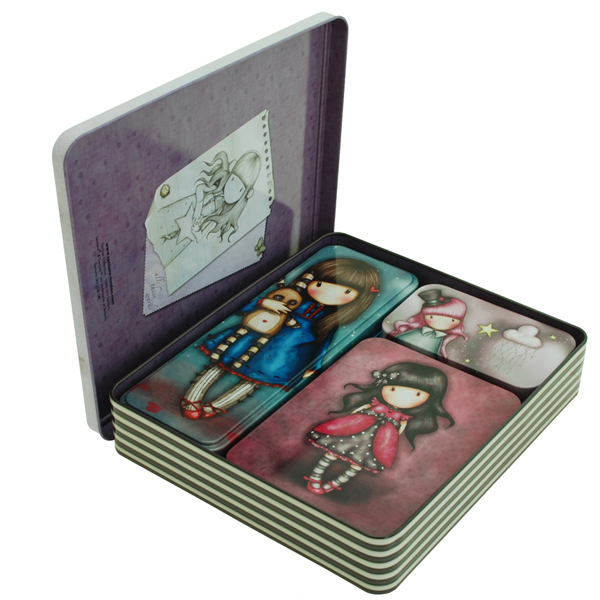 Kutija ukrasna metalna Gorjuss za sitnice pk4 452GJ01 - ODDO igračke