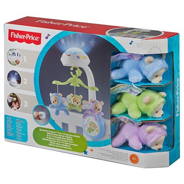Vrteška i projektor sa medvedićima Fisher Price CDN41 - ODDO igračke