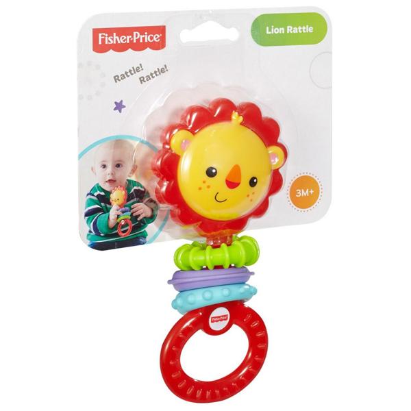 Fisher Price zvečka glodalica Lav CGR32 - ODDO igračke