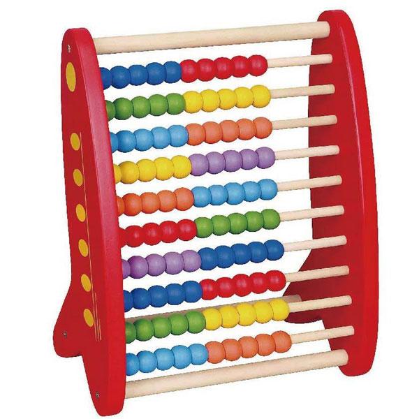 Viga Drvena računaljka 59718 - ODDO igračke