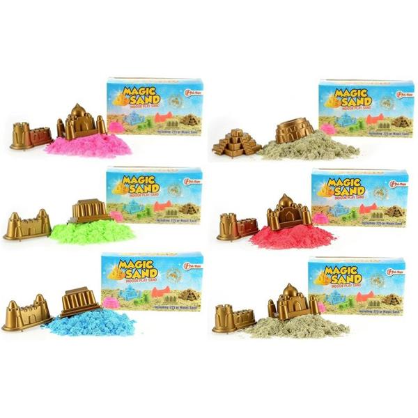 Magični kinetički pesak u bojama 225g sa dve modle 64902 - ODDO igračke