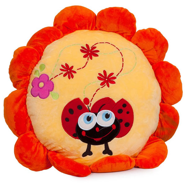 Jastuk Bubamara cvet plišani 45 cm LB81246 - ODDO igračke