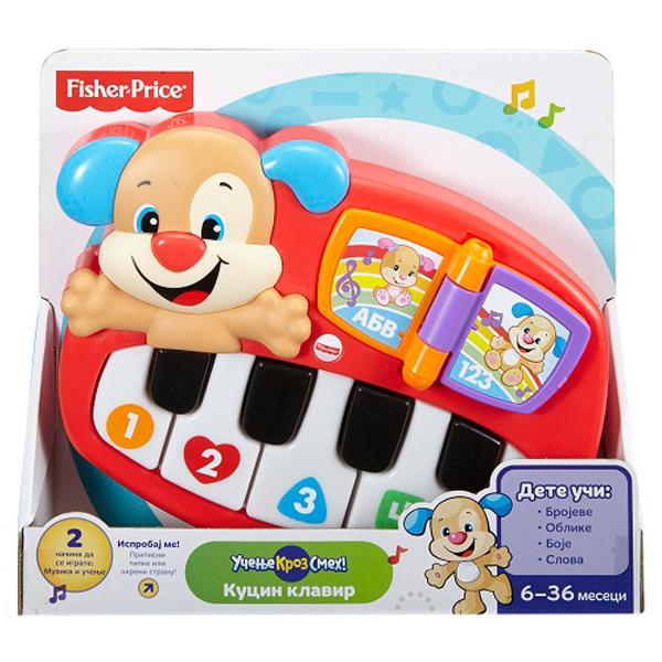 Klavir Sveznalica FISHER PRICE DLM04 - ODDO igračke