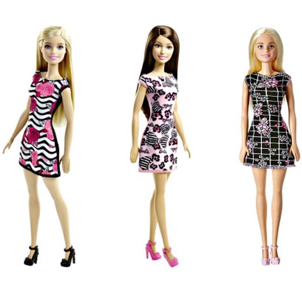 Lutka Barbie Trendi lutka osnovni model DTF41 - ODDO igračke