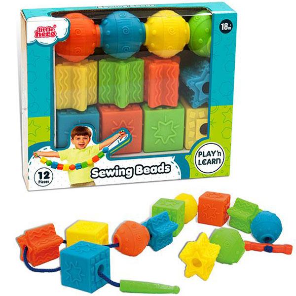 Senzorni oblici za pertlanje 12/1 TH 3052 - ODDO igračke