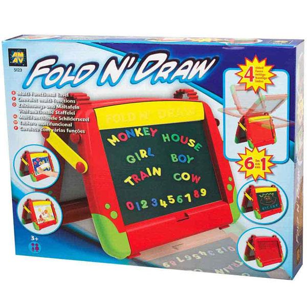 Diamant Toys Tabla za crtanje 6 u 1 DM5123 - ODDO igračke