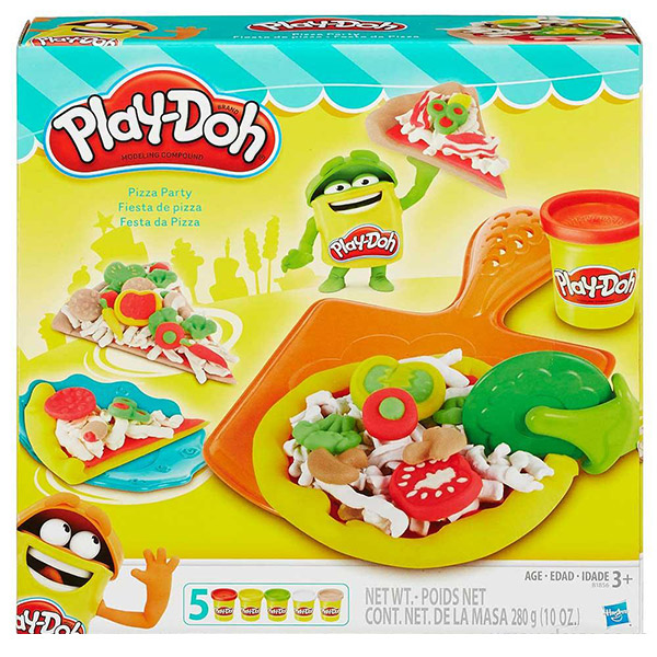 PlayDoh plastelin Pizza party B1856 - ODDO igračke