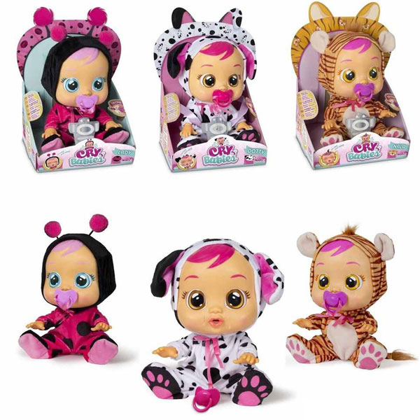Lutke bebe Plačljivice CRYBABIES IM10345 - ODDO igračke