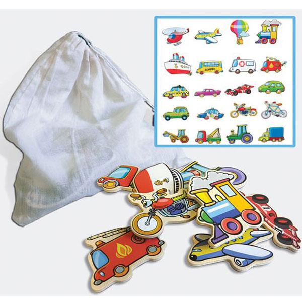 Viga Magneti saobraćaj u džaku 59744 - ODDO igračke