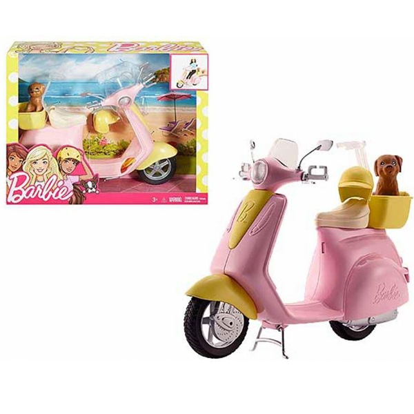 Barbie moped MADVX56 - ODDO igračke