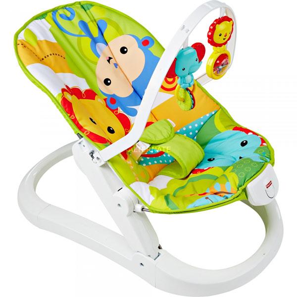 Ležaljka Sklopiva Fisher Price MACMR20 - ODDO igračke