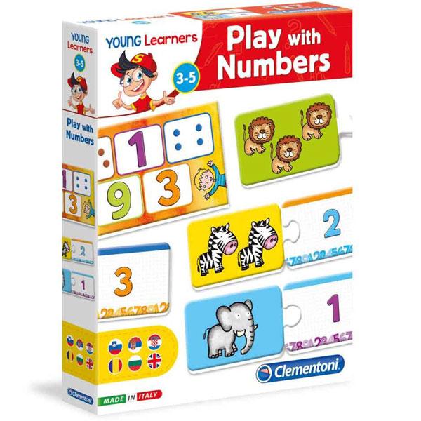 Igrajmo se brojevima Mali istraživači Clementoni CL50505 - ODDO igračke