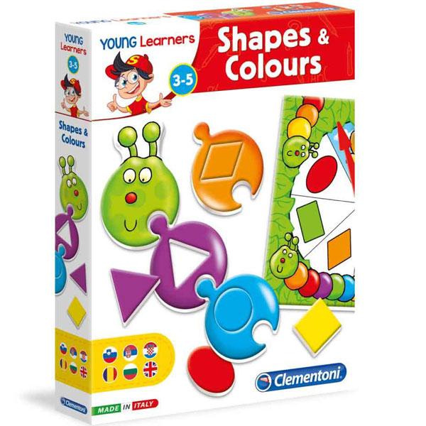 Mali Istraživači Oblici i boje Clementoni CL50504 - ODDO igračke