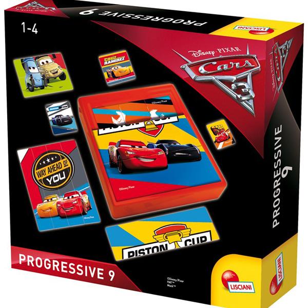 Cars 3 Edukativna slagalica baby Progressive Lisciani 61952 - ODDO igračke