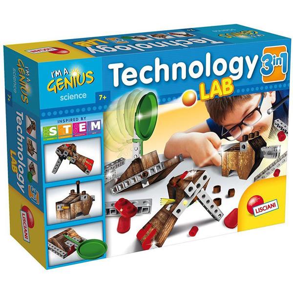 Mali Genije Edukativna igra Tehnoloska laboratorija 3u1 61310 - ODDO igračke