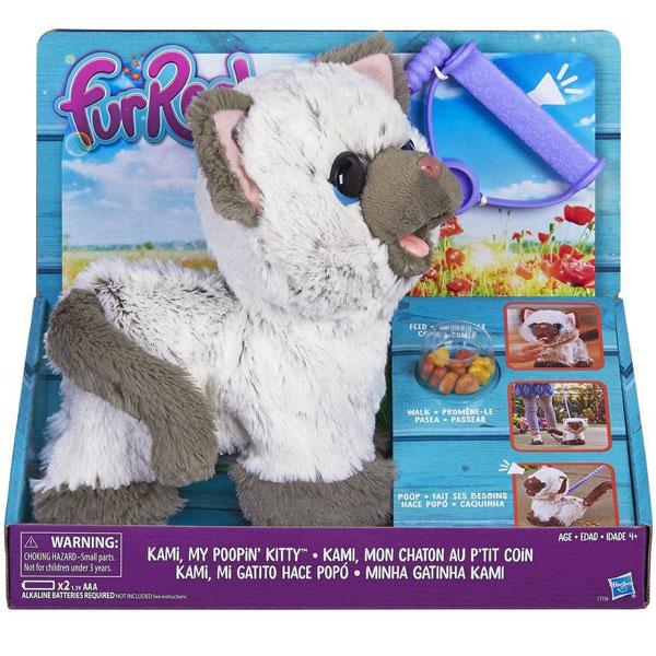 FurReal Kami My Poopin Kitty C1156 - ODDO igračke