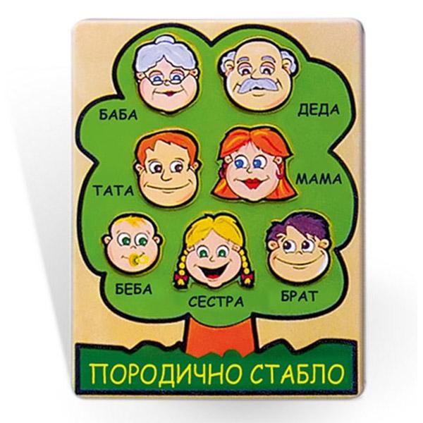 Viga Porodično stablo 56416 8954 - ODDO igračke
