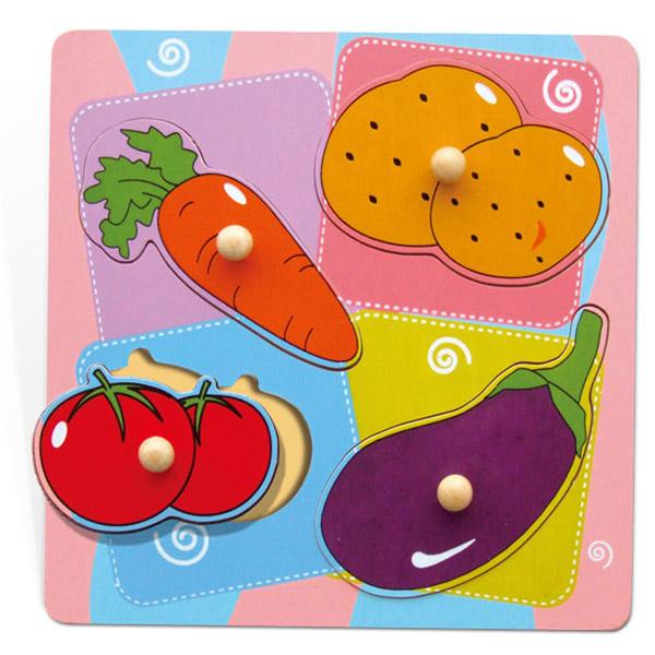 Viga Dvoslojna umetaljka Povrće 59514 8930 - ODDO igračke