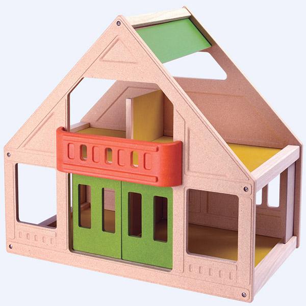 Kućica za lutke drvena PlanToys 7601 - ODDO igračke