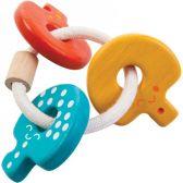 Zvečka drvena KLJUČIĆI PlanToys 5217 | ODDO igračke