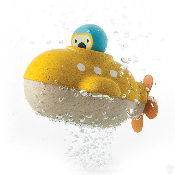 PlanToys Drvena igračka za vodu - PODMORNICA 5669 - ODDO igračke