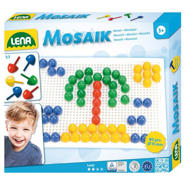 Lena bockalice 80 delova 803002 - ODDO igračke