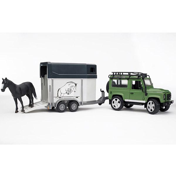 Džip land rover sa prikolicom za konje 025922 - ODDO igračke