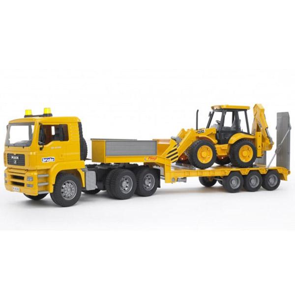Bruder Kamion MAN TGA Utovarivač sa Bager utovarivačem 027766 - ODDO igračke