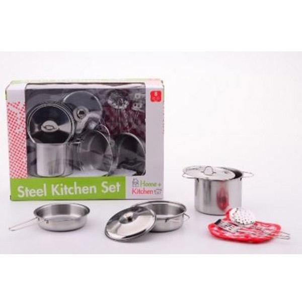 Metalni set posudje za kuhinju 27490 - ODDO igračke